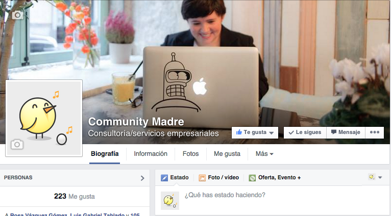 Facebook Community Madre