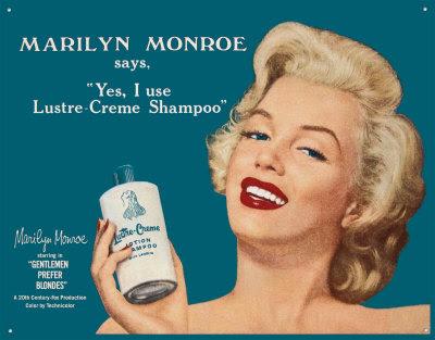 Marilyn Monroe Publicidad