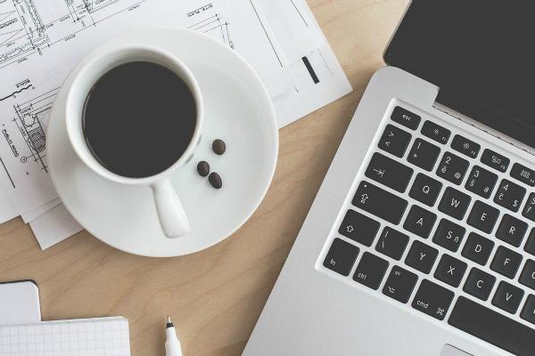 ordenador café