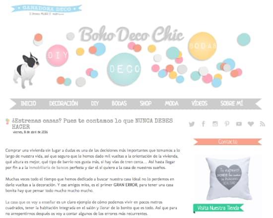 bohodecochic blog