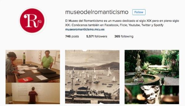 museoro manticismo instagram