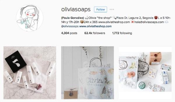 olivia soaps instagram