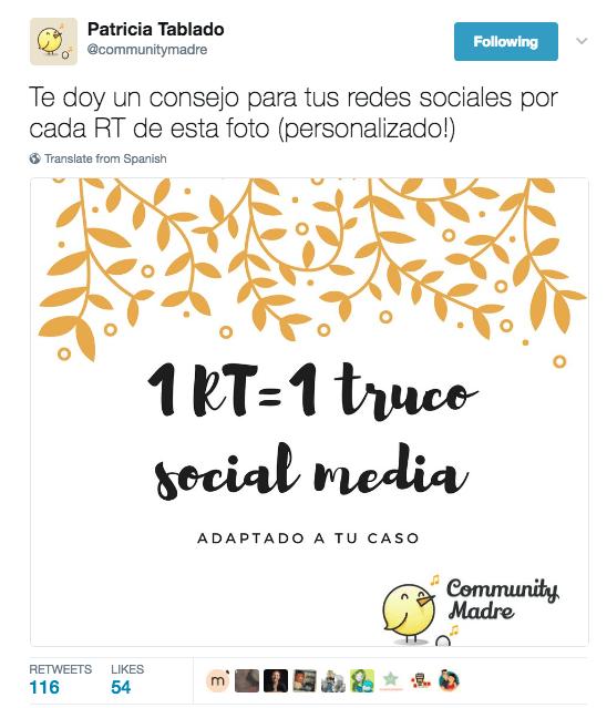 consejo social media