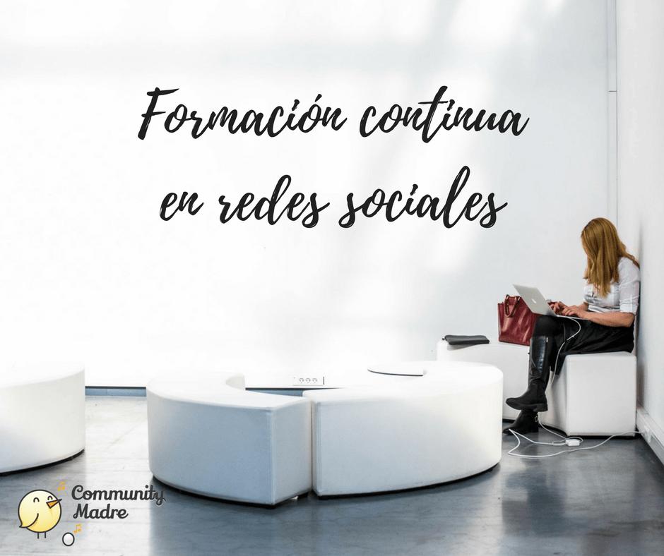 Formación continua en redes sociales
